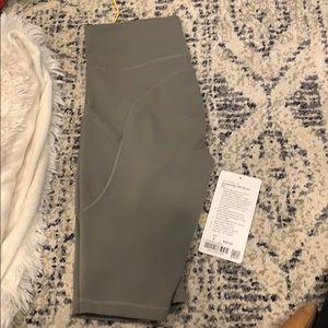 Lululemon green Biker Shorts size 6